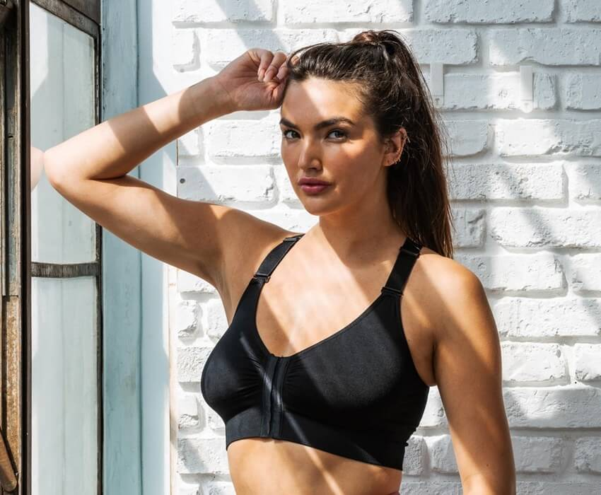 recovery bra adjustable and removable straps