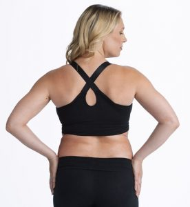 maternity bra with racer back